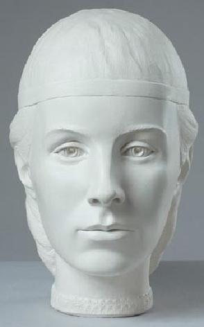 Елена Глинская, Реконструкция по черепу, С. Никитин, 1999 год